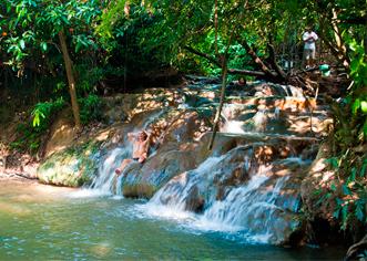 Горячий водопад в Краби