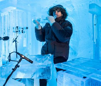 Фестиваль «Ледяная музыка» в Норвегии