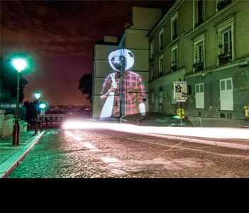 Дивные световые инсталляции от Julien Nonnon