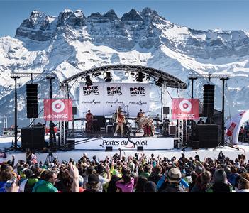 Рок-фестиваль на лыжах